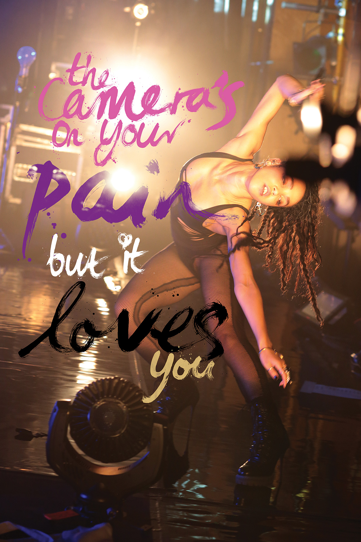 Lend Me Your Ear artwork, illustration, music photography, Andrew Cotterill Ben Tallon, FKA Twigs