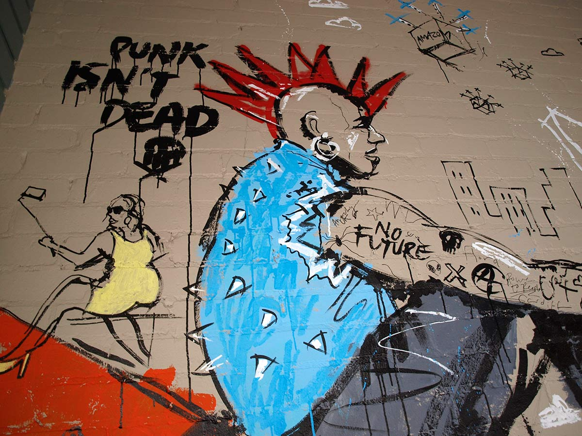 Pokemon Go artwork, Ben Tallon, live art, artist, illustration, mural, punk, Cardiff The Flora, Cathay's Terrace, ink drawing, wall art, street art, pokemon street art, pikachu drawing, charizard draw, design, video game art, nintendo, urban art, graffiti, pokemon graffiti