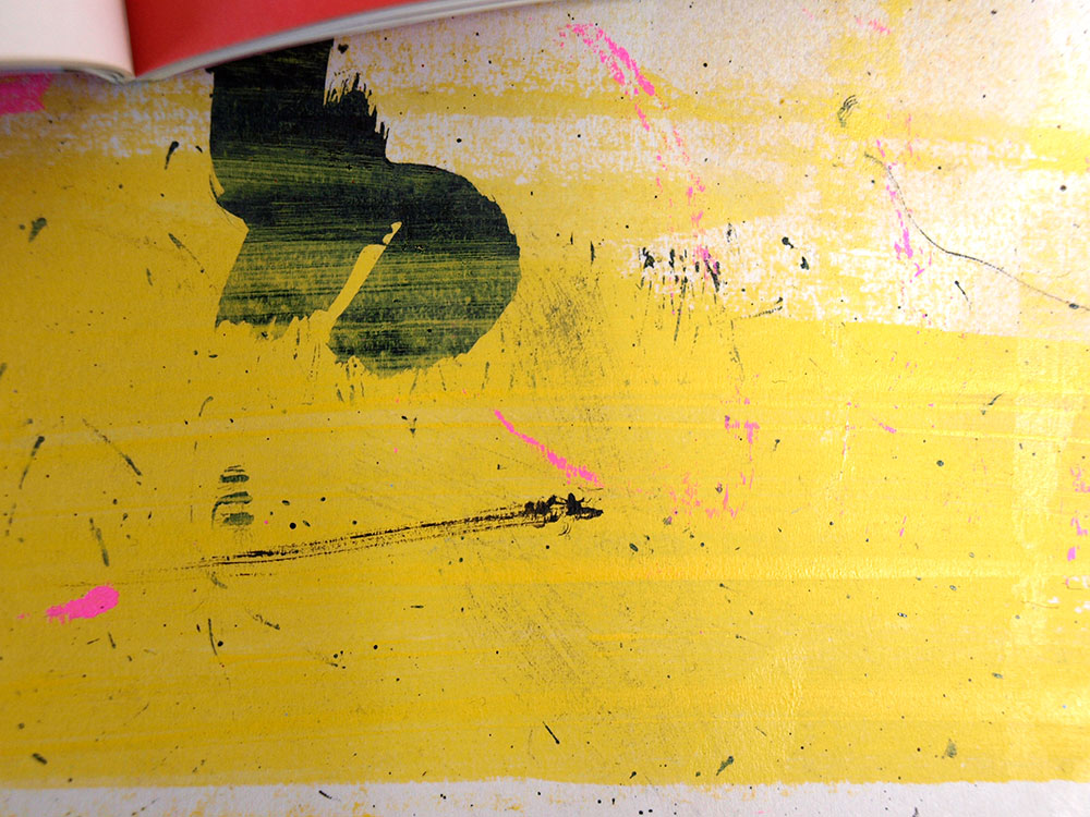 acrylic, emulsion, paint, painter, paint texture, creative studio, ben tallon, ink, brush stroke, creative, british illustrator, drawing, messy illustration