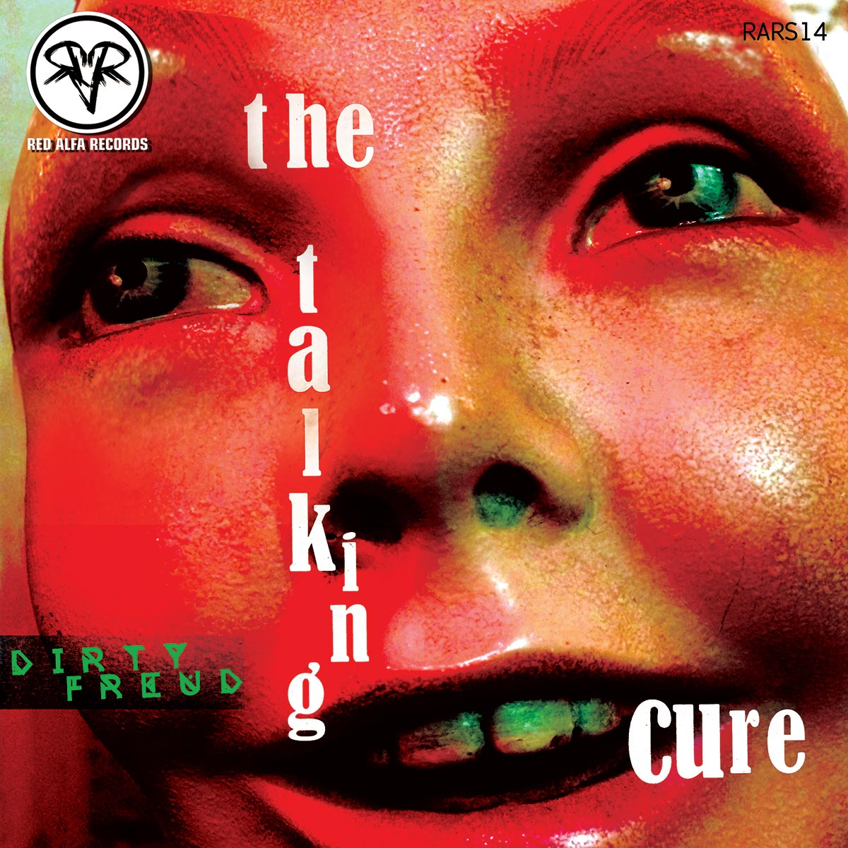 Talking Cure EP, Dirty Freud, dance, electro, electronica, ep sleeve, album cover, album art, art direction, design, Ben Tallon