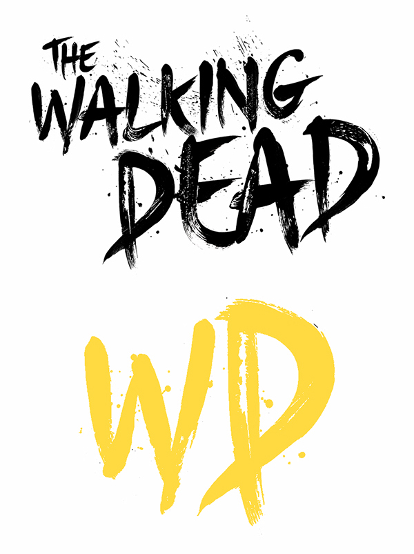 tHE wALKING DEAD, ILLUSTRATION, DRAWING, ARTWORK, ART, ZOMBIE, SCI FI, COMIC ILLUSTRATION, ARTIST, LETTERING, TYPE,