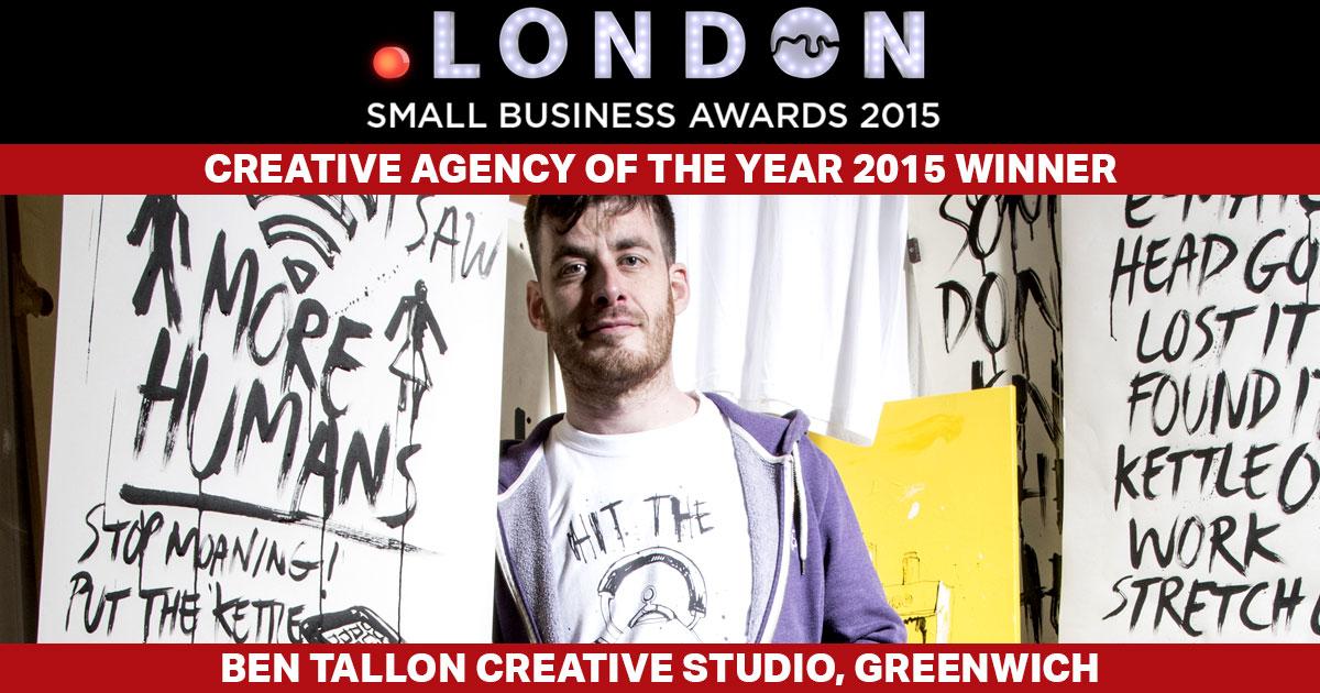 Dot London Creative Agency winner illustrator, art director, design, Ben Tallon  Creative studio, illustrator